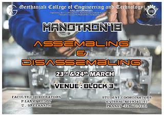 Manotron18  Events
