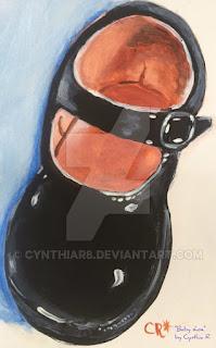 cynthiar-blackpatentleathershoe-babyshoe-blackbabyshoe