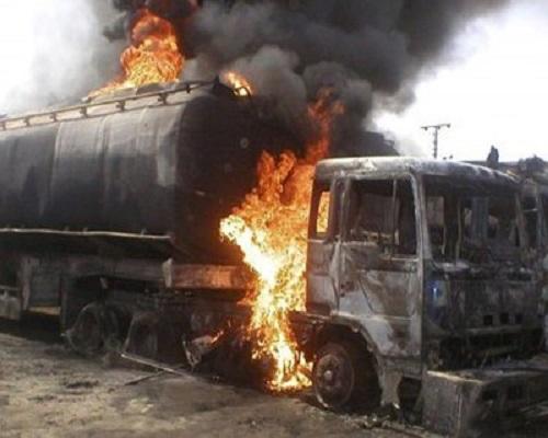 BREAKING: Tanker fire spreads agony in Festac, Lagos