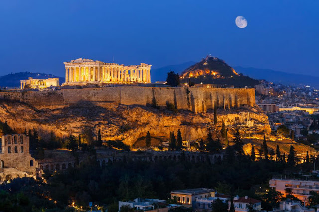 JIKA ANDA KE ATHENS, GREECE  JANGAN LUPA SINGGAH BERSOLAT DI MASJID BAWAH TANAH INI