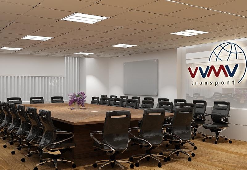 Thiết kế nội thất phòng họp cao cấp cần chú trọng thể hiện hình ảnh công ty
