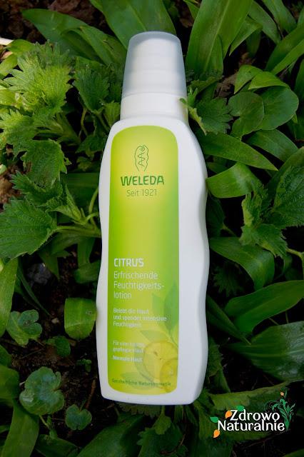 Weleda - Odświeżający balsam nawilżający do ciała z cytryną idealny na lato