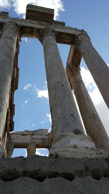 Oltre le nuvole - Visita del 06 marzo 2016 Colosseo e foro romano