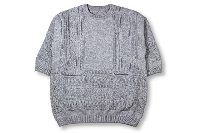 crepuscule [ キリム柄ニット ] Gray