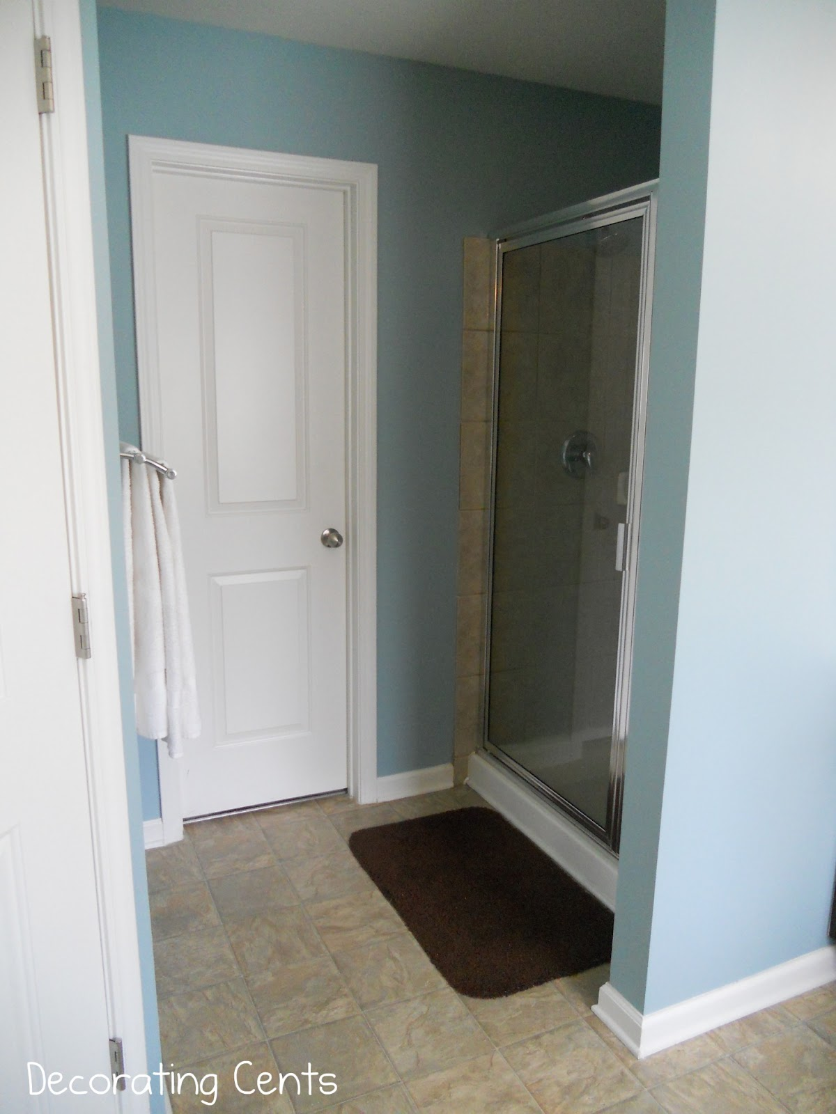The Master Bathroom Is Painted