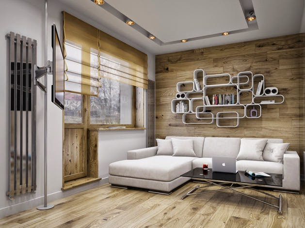 Projects peque o estudio para soltero virlova style for Diseno de apartamento de soltero