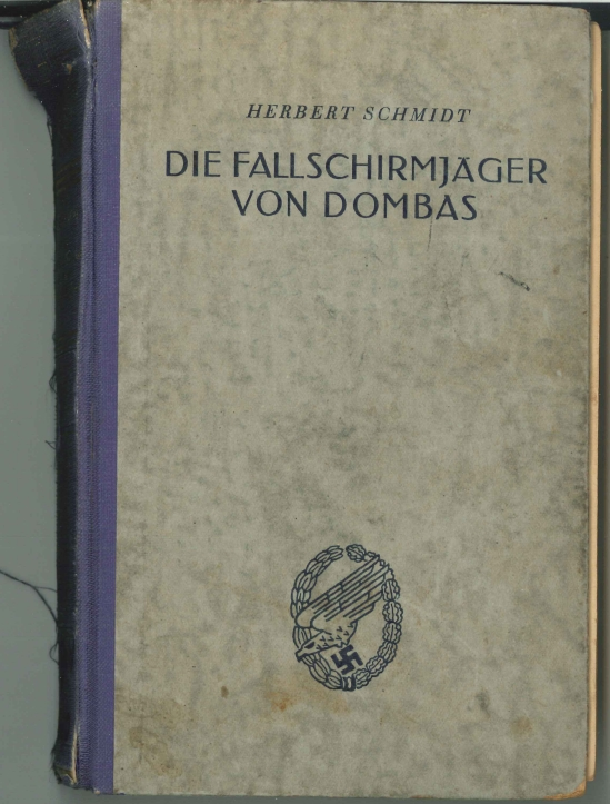 Fallschirmjäger worldwartwo.filminspector.com Dombås Oblt. Schmidt book