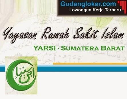 Lowongan Kerja Yayasan Rumah Sakit Islam Sumatera Barat (Yarsi Sumbar)