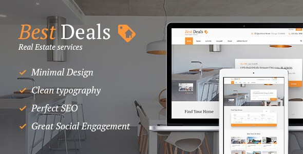 Free Download Best Deals Premium Property Sales & Rental WordPress Theme
