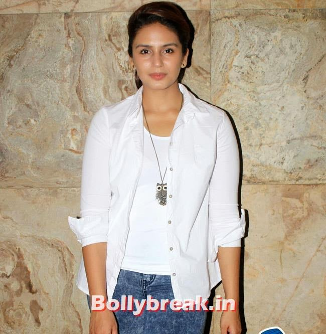 Huma Qureshi, Huma Qureshi & Others at Hawaa Hawaai Special Screening at Lightbox