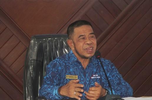 Wakil Bupati Pimpin Rakor, Pengendalian Inflasi Daerah