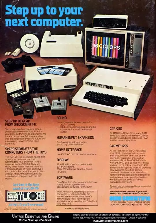 Old days' Computer Advertisements 50