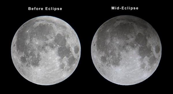 Gerhana Bulan Penumbra Berlaku Pada Malam 23 Mac 2016