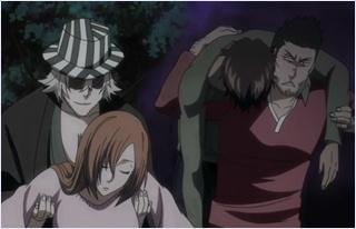 อิชชินกับอุราฮาระไปช่วยโอริฮิเมะกับแช้ด