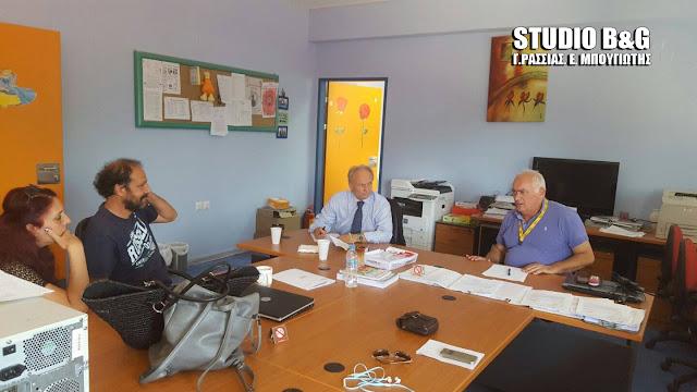 Ανδριανός στη Βουλή: Να καλυφθούν άμεσα τα κενά σε διδακτικό και άλλο προσωπικό στο Ειδικό Δημοτικό Σχολείο Άργους