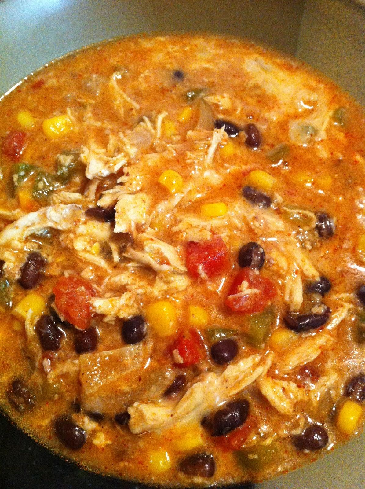 Mama Feta S Meals Crock Pot Chicken Enchilada Soup