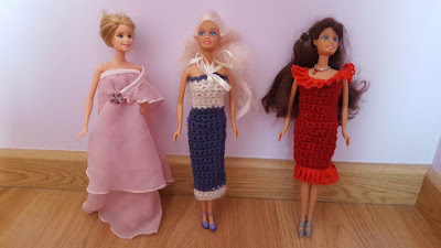 Holiday Dresses for Dolls