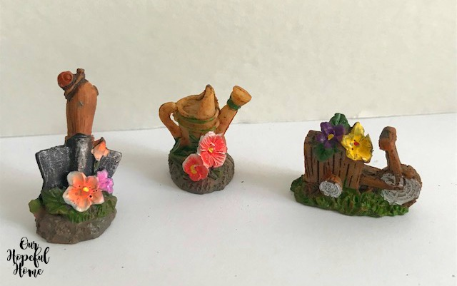 fairy garden mini garden tools