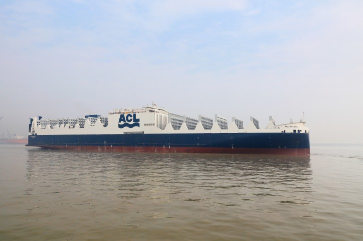 ACL takes delivery of second of five new ConRo G4 generation vessels