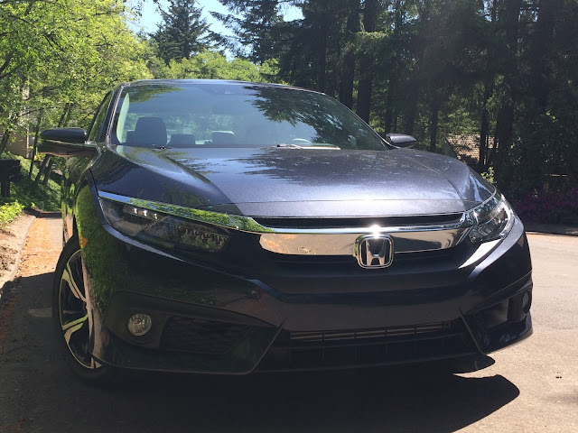 2016 Honda Civic grille