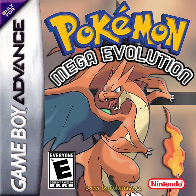 Pokemon Mega Evolution gba
