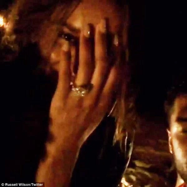 Ciara is engaged, check out her $2m dollars diamond ring [Photos]