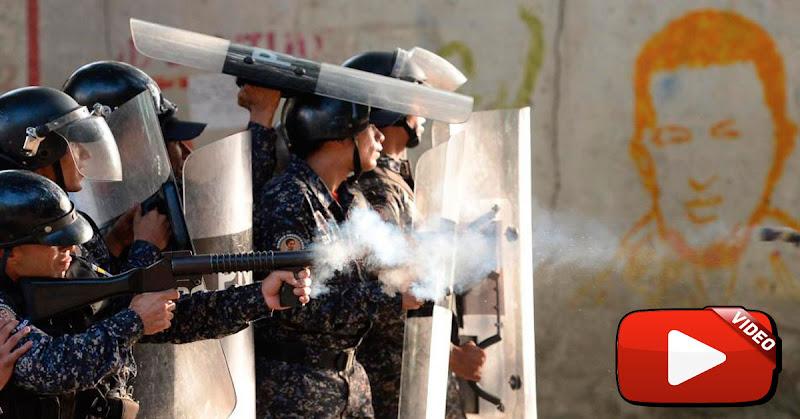 Aumenta la represión en varios sectores de Caracas tras manifestación del 23 de Enero