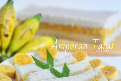 Resep Yummy: Amparan Tatak Pisang by Hanny