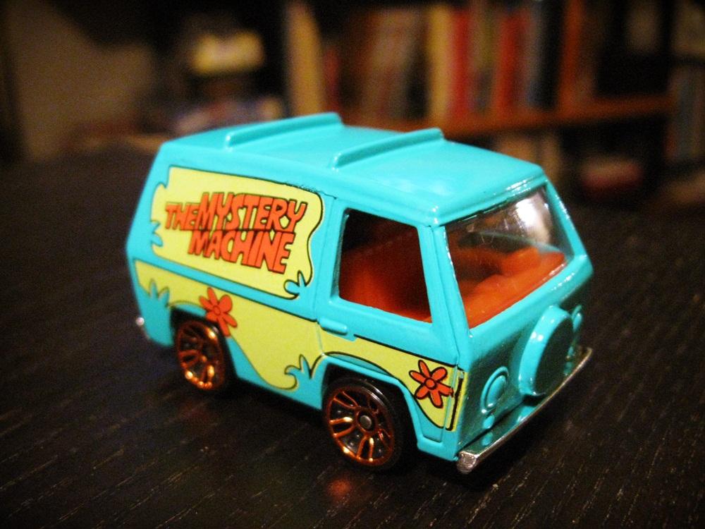 Lair Of The Dork Horde: Zoinks! It's The Hot Wheels