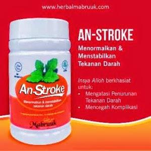 Jual Obat Herbal Khusus STROKE kapsul AN-STROKE Mabruuk
