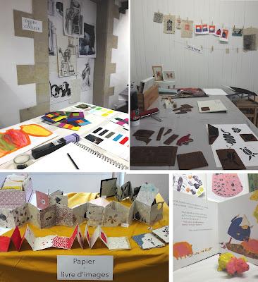 art cours atelier dessin couleur créatif enfant adulte gravure livre peinture loisir