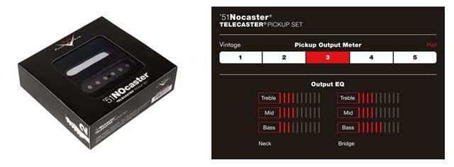 Pastillas Fender ´51 Nocaster: Información
