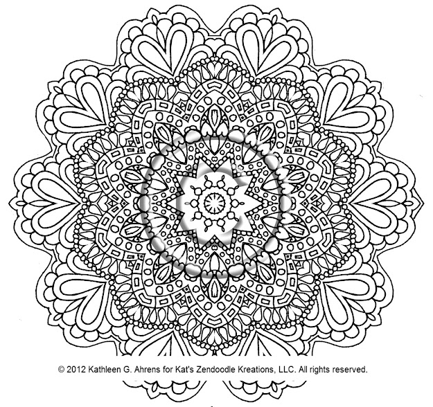 Mandala Coloring Pages Expert Level Cat Mandala Coloring Pages Mandala