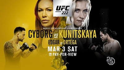 Watch UFC 222: Cyborg vs. Kunitskaya 3/3/2018