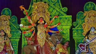 COLLEGE SQUARE 2018 DURGA PUJA THEME AND IDOL