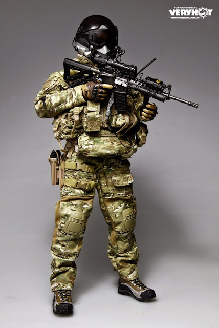 Toyhaven Preview Very Hot 1 6 Us Navy Seal Halo Udt