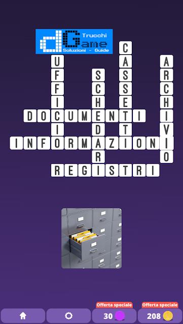 Soluzioni One Clue Crossword livello 14 schemi 11 (Cruciverba illustrato)  | Parole e foto