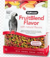 Pakan Burung Paruh Bengkok Merk HOT LIST Zupreem Fruitblend Flavor