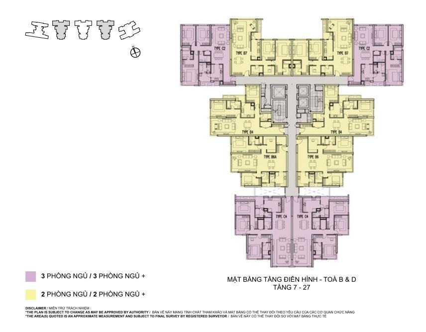 Thiết kế mặt bằng chung cư Mulberry Lane