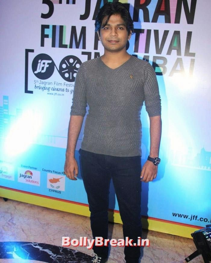 Ankit Tiwari, 5th Jagran Film Festival Red Carpet Pics