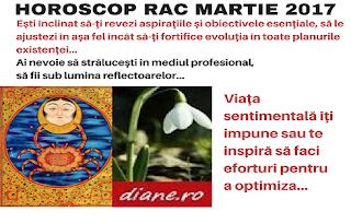 Horoscop martie 2017 Rac