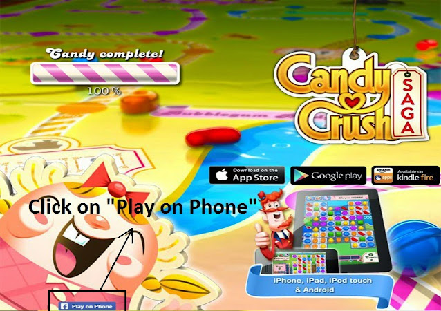 Reconnect Candy Crush Saga