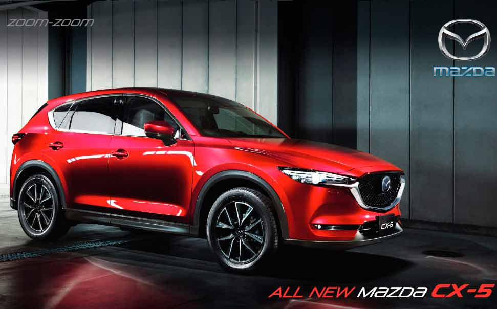 All new Mazda Cx - 5