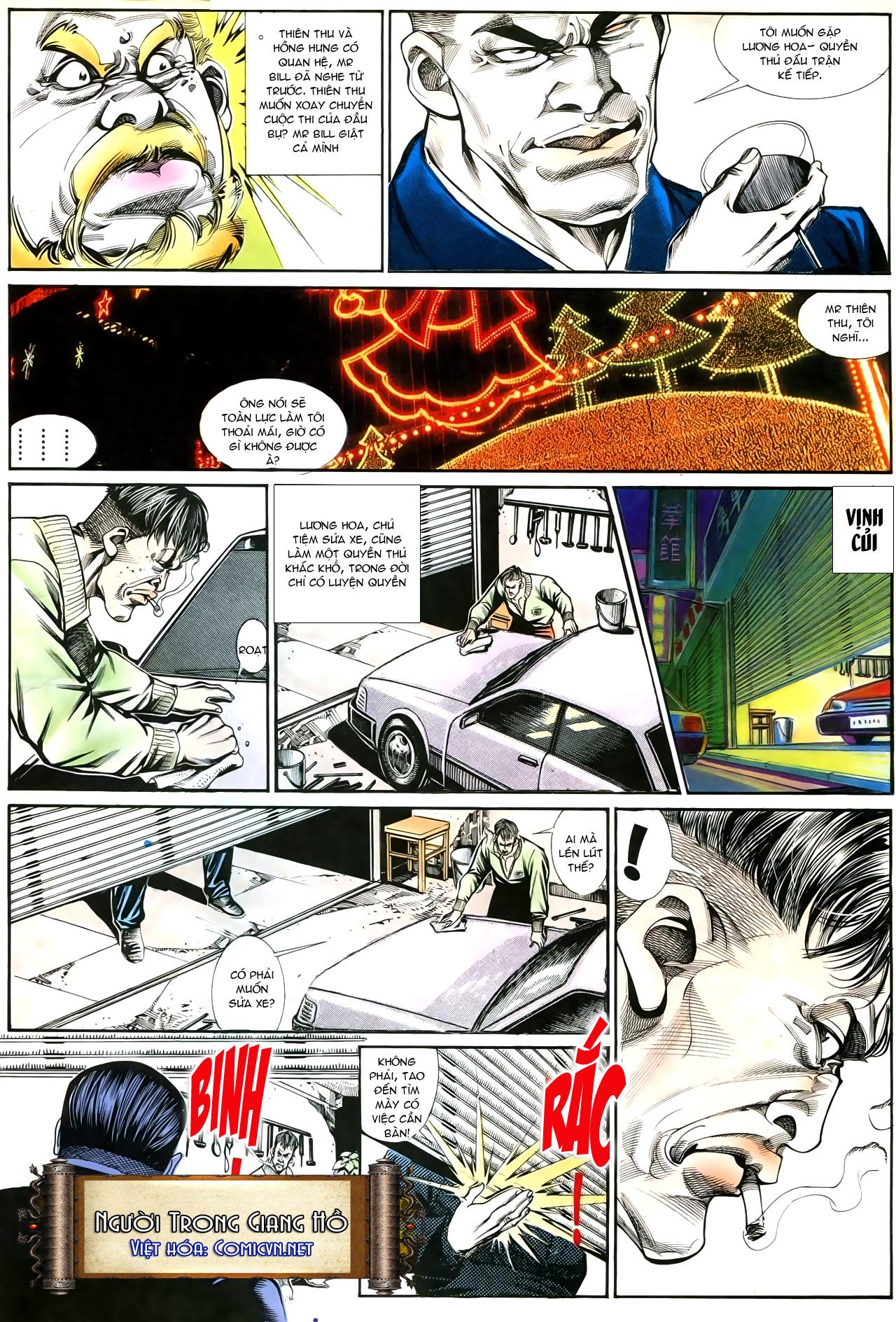 Người Trong Giang Hồ chapter 192: bá khí trúc liên bang trang 9