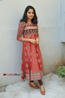 Telugu Actress Nikhila Vimal Latest Stills in Anarkali Dress  0193.JPG