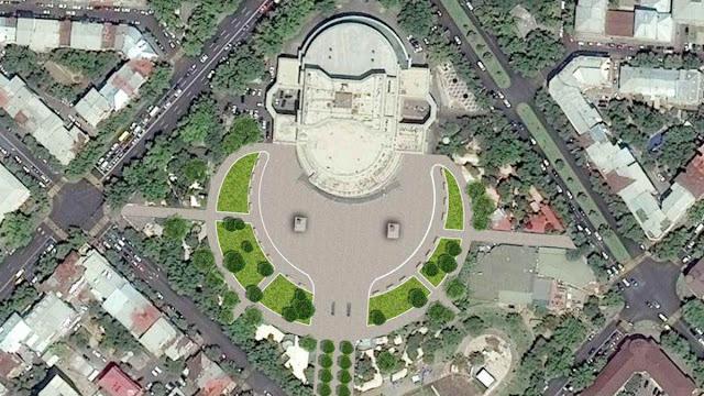 Restauran espacios verdes en el centro de Ereván