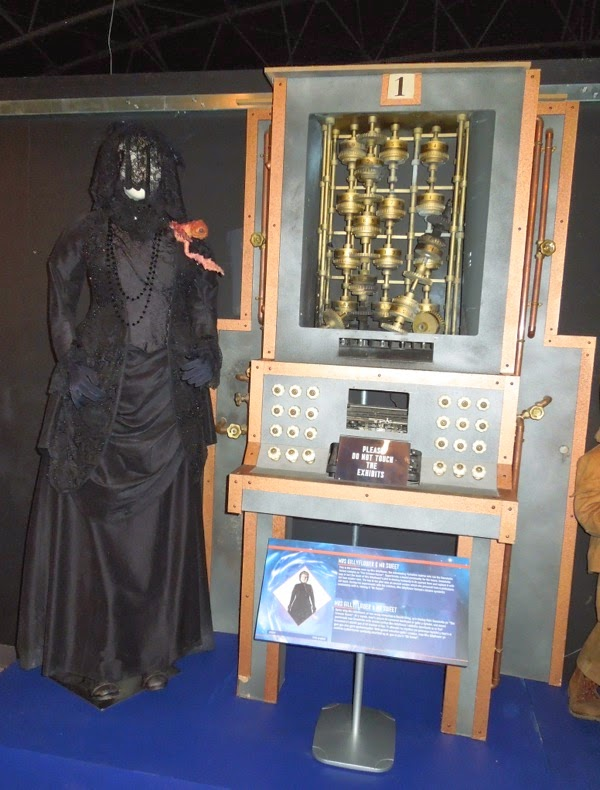 Doctor Who Crimson Horror costume prop exhibit