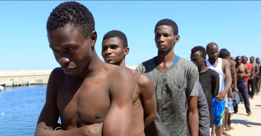 Shocking Footage Of Africans Being Sold At Open-Air Slave Markets In Libya