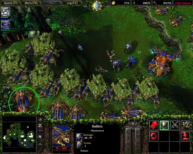 Ballista Screenshot | Warcraft 3: Reign of Chaos | The Druids Arise Mission 31