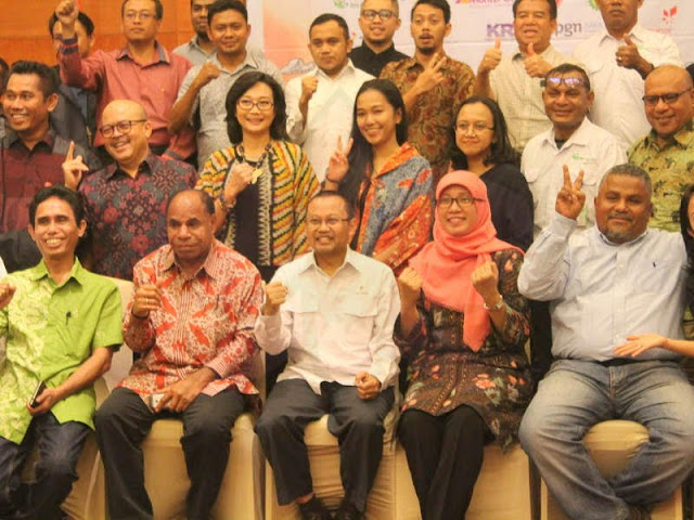SKK Migas Pamalu Holds a Media Gathering in Ambon